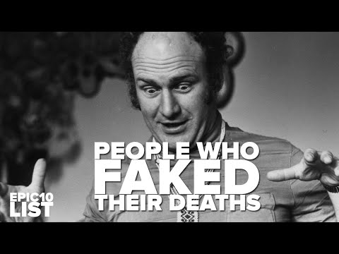 10 People Who FAKED Their DEATHS