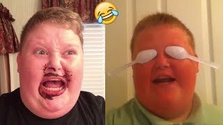 Try Not To Laugh Or Grin Challenge: Funniest Brandon Bowen Vines Compilation