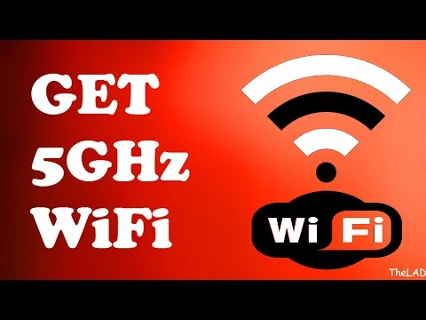 How to get 5GHZ WiFi on your laptop!