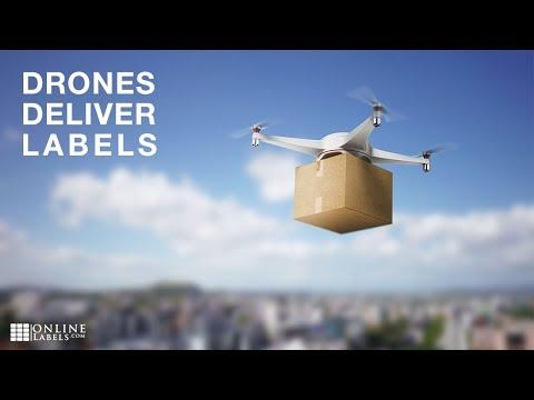 OnlineLabels.com Unveils Drone Delivery
