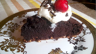 How to make Brownie | Peanut base | home made recipe brownie | with ice cream - with Subtitles