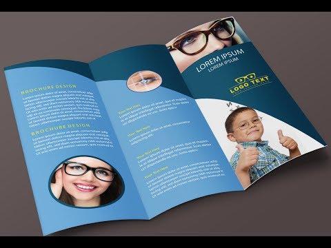 How To Design a Medical Tri- Fold Brochure In Illustrator 2017
