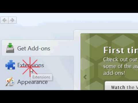 How to remove Yahoo toolbar on Firefox 2014
