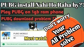 Pubg mobile lag fix 1GB Ram Phones||Extreme Graphics on low end phones