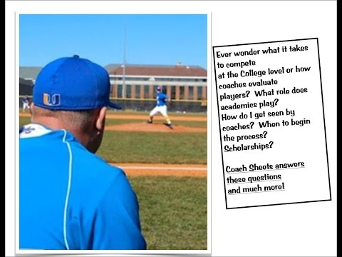 COLLEGE BASEBALL RECRUITING: Coach Sheets of Spalding University Discusses  Recruiting