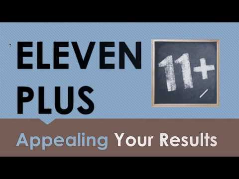Eleven Plus (11+) - Appealing Your Results