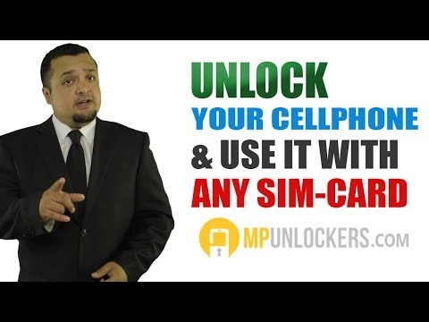 HOW TO UNLOCK A PHONE SIM CARD ON ANY CARRIER WITH UNLOCK CODE
