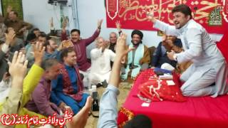 Raza Abbas Zaidi reciting - Nad e Ali Ka Wird Karo - in Bab Ul Hawaij, Calgary