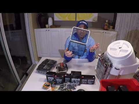 Hobie Pro Angler kayak battery packs DIY