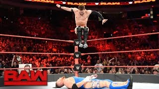 Finn Bálor vs. Curt Hawkins: Raw, April 17, 2017