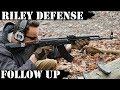 Riley Defense AK47 - Follow Up...