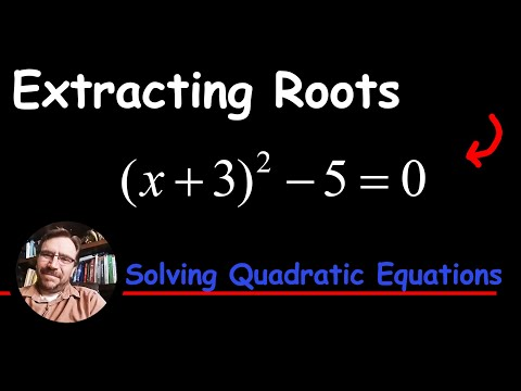 Solve by Extracting Square Roots