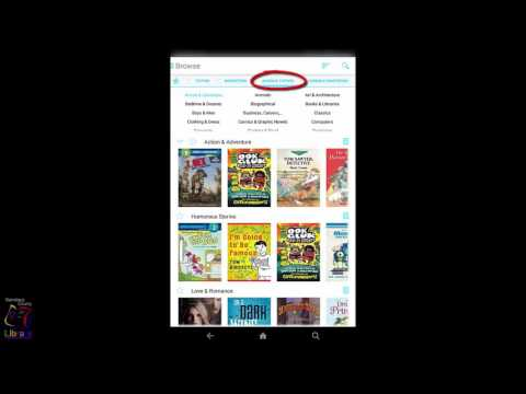 Cloud Library on Kindle Fire - Browsing