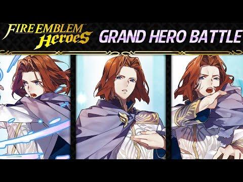Fire Emblem Heroes - Grand Hero Battle: Saias INFERNAL+Lunatic F2P Units, No Skill Inheritance