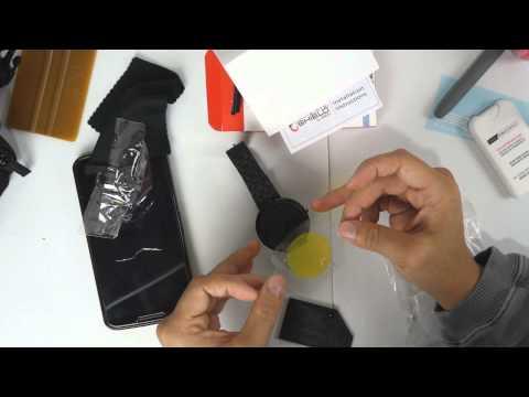 Moto 360 ZAGG InvisibleSHIELD Screen Protector Installation