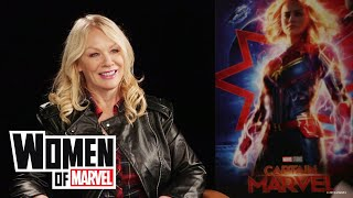 Nancy Wilson of the band Heart talks Marvel Studios' 'Captain Marvel' | Women of Marvel