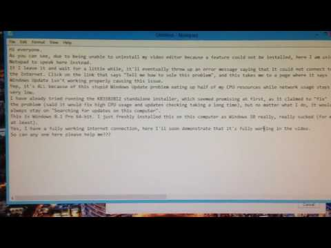 [FIXED] Windows 8.1 Updates problem [checks for updates FOREVER]