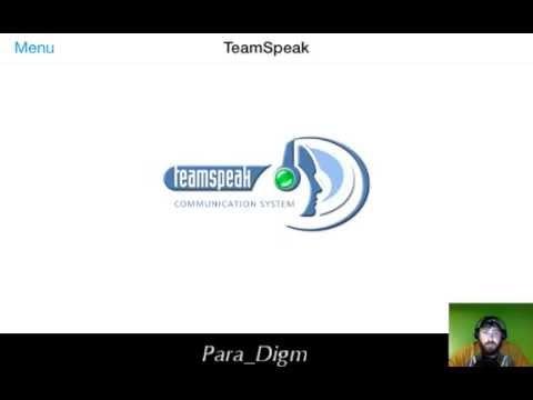How to setup Teamspeak App for IOS