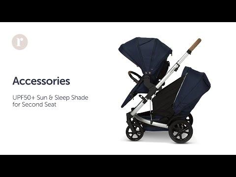 JIVE² UPF50+ Zip-on Sun & Sleep Shade (Second Seat) Instructional Video