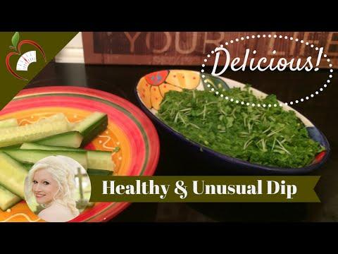 Healthy Spinach Creamy Dip Recipe
