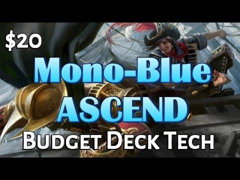 Mtg Budget Deck Tech: $20 Mono-Blue Ascend in Rivals of Ixalan Standard!