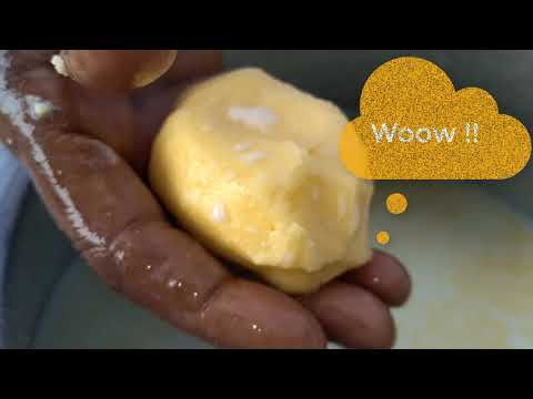 Home made ghee   How to make ghee   from curd - butter milk - GHEE   Village style home made ghee