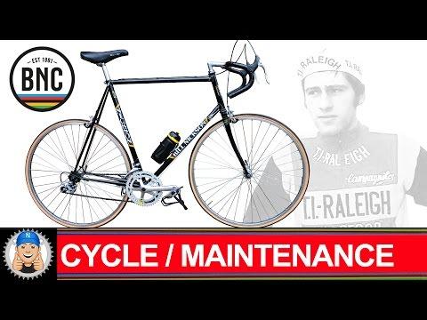 Vintage Bill Nickson Road Bike Restoration