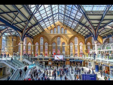 A Walk Through London's Liverpool Street Railway Station
