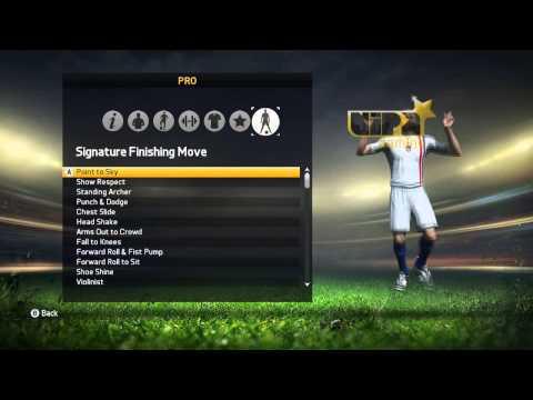 FIFA 15 -Creating a Pro