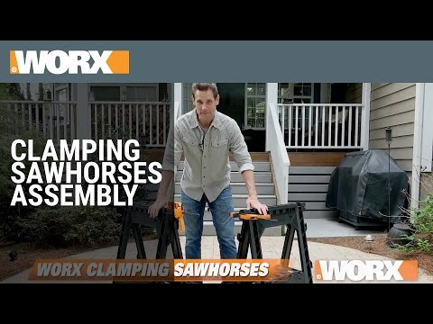 Clamping Sawhorses | How to Use