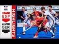 Spain V Germany Week 9 Mens FIH Pro League Highlights