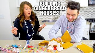 HE BROKE MY GINGERBREAD HOUSE!