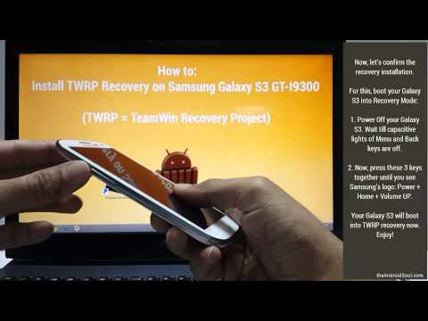 How to Install TWRP Recovery on Samsung Galaxy S3 using Odin