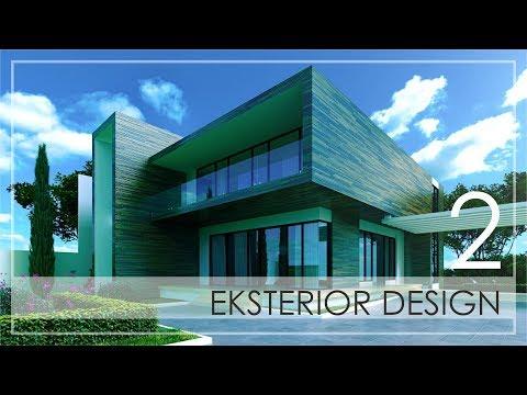 3ds exterior design tutorial Part 2   3Ds max Modeling Door and Window