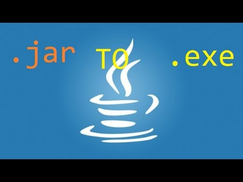Convert  Java Project into exe file