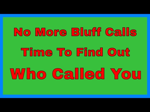 How To Find Out Who Called You - Who Called You