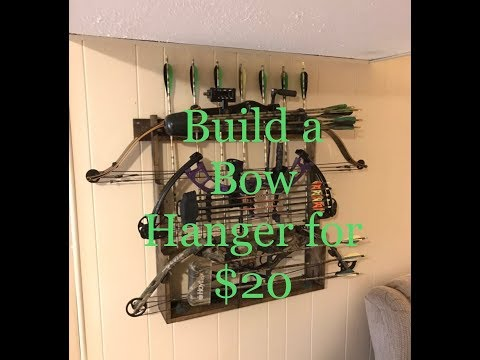 Make a Compound Bow Rack for $20 | Archery | DIY