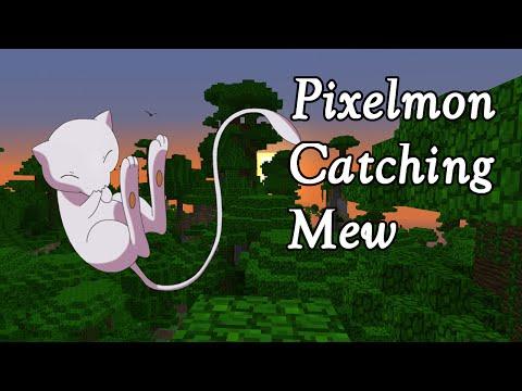 Pixelmon Catching Mew | Capturing Mew in Pixelmon