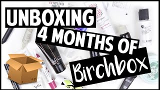 Unboxing 4 Months of BIRCHBOX! // Elle Fowler
