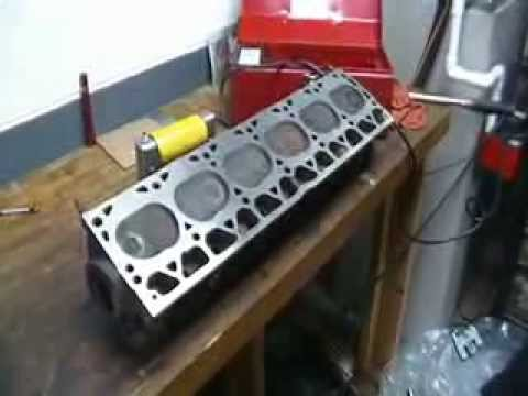 How to Magnaflux a Cylinder head