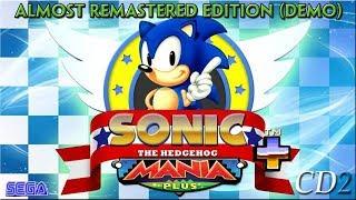 Sonic Mania PLUS - EXPLORANDO Green Hill Zone Act 1 (MANIA MODE