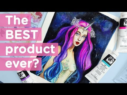 The BEST Watercolor/Gouache Product!? 【Reviewing ShinHan PASS Colors】