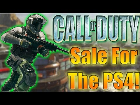 PS4 Huge CAll Of Duty Sale!