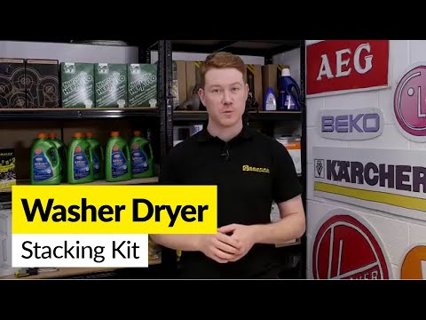 How to use Washing Machine and Tumble Dryer Stacking Kits