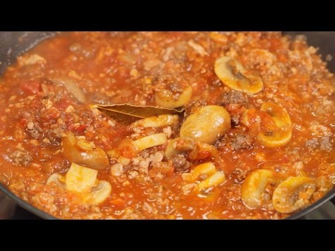 Low-Carb Meat Sauce Recipe | Cooking with Dog