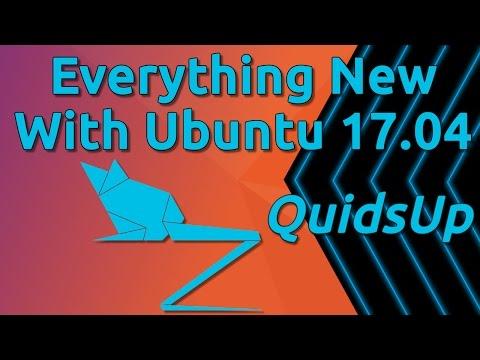 Everything New With Ubuntu 17.04