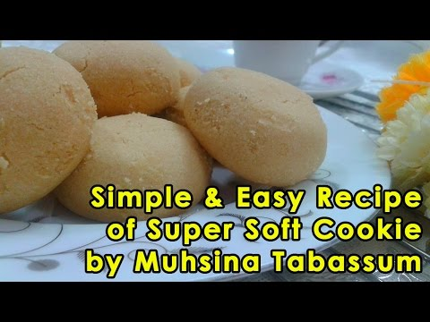 Simple & Easy Recipe Of Super Soft Cookie