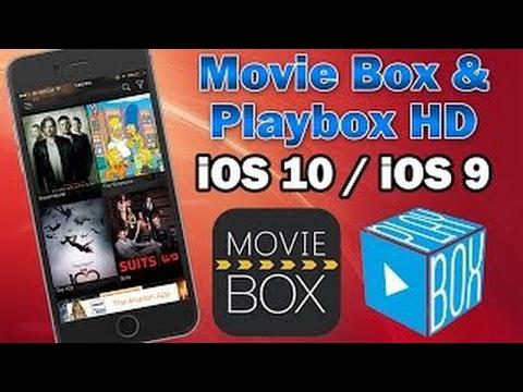 How To Get Movie Box And Play Box HD (IOS 10+)No Jailbreak