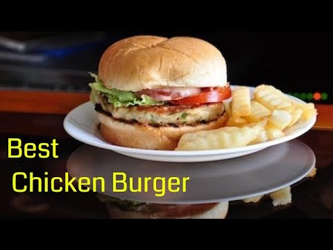 BEST AND EASIEST Chicken Burger made in 30 minutes | ( Chicken Burger Recipe ) RecipesAreSimple