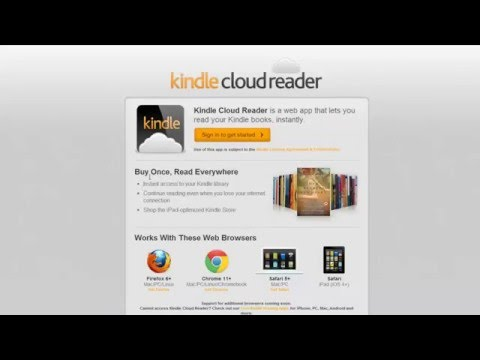 Kindle Cloud Reader For Google Chrome